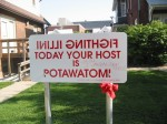 Potawatomi sign