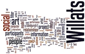 The Performance of Information Flows in the Art of Stephen Willats