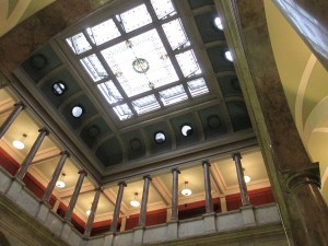 Skylight of Newark Public Library