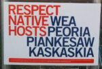 Respect native WEA hosts sign