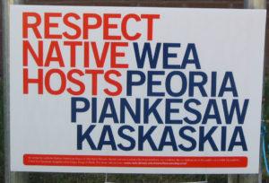Respect native WEA hosts sign