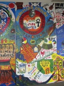 Mural about Food Justice at Growing Power, Chicago
