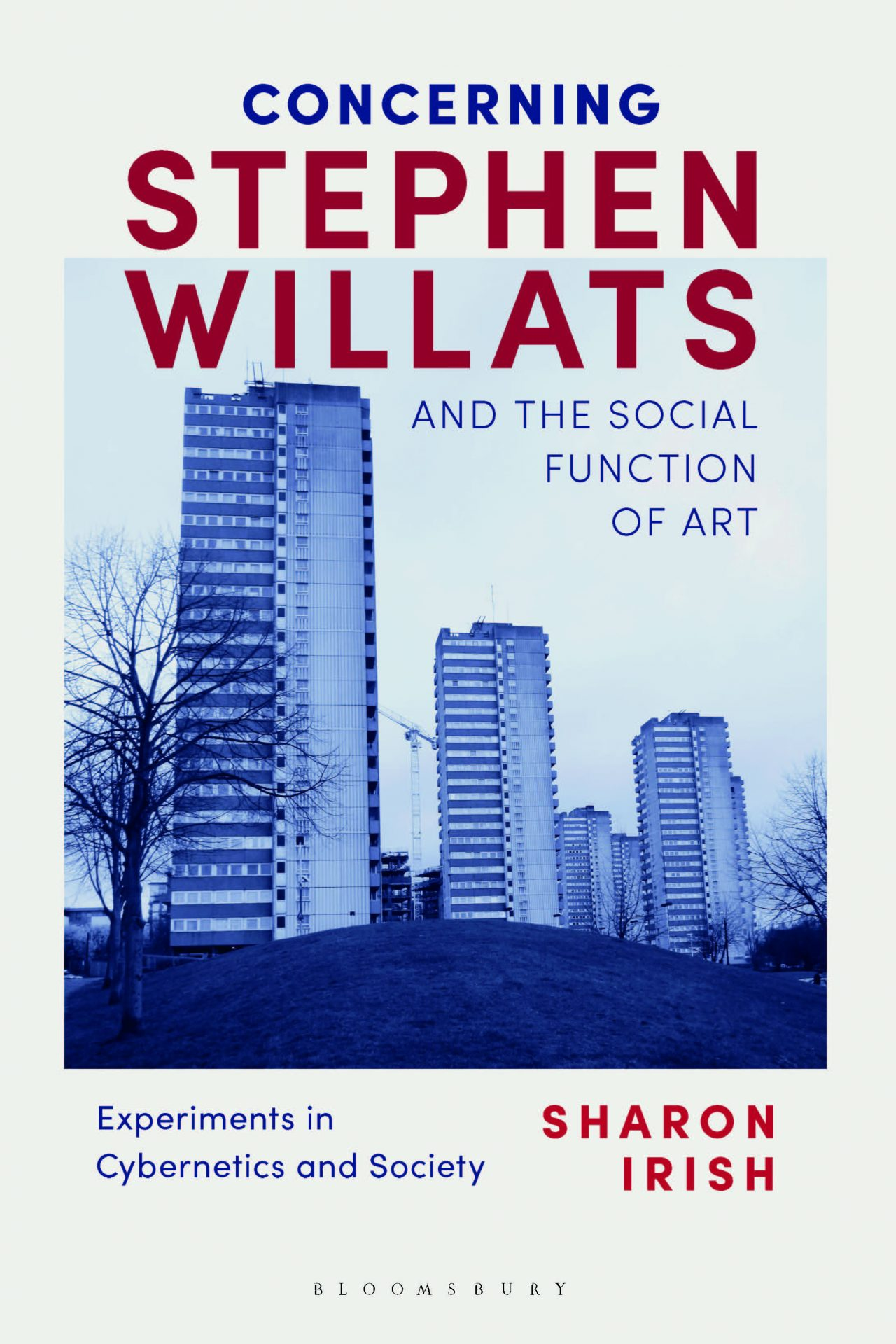 cover of book on Stephen Willats